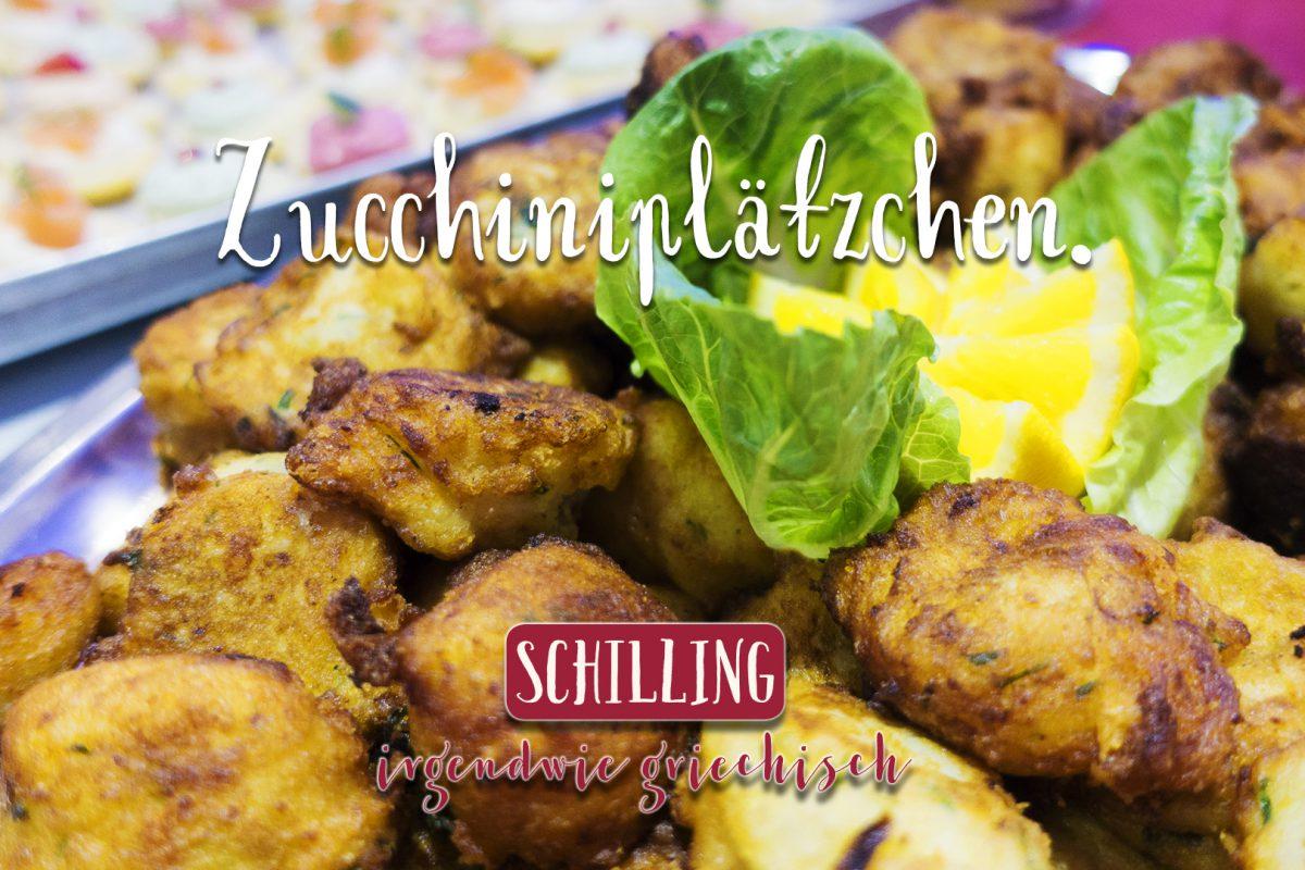 Schilling Zucchiniplätzchen