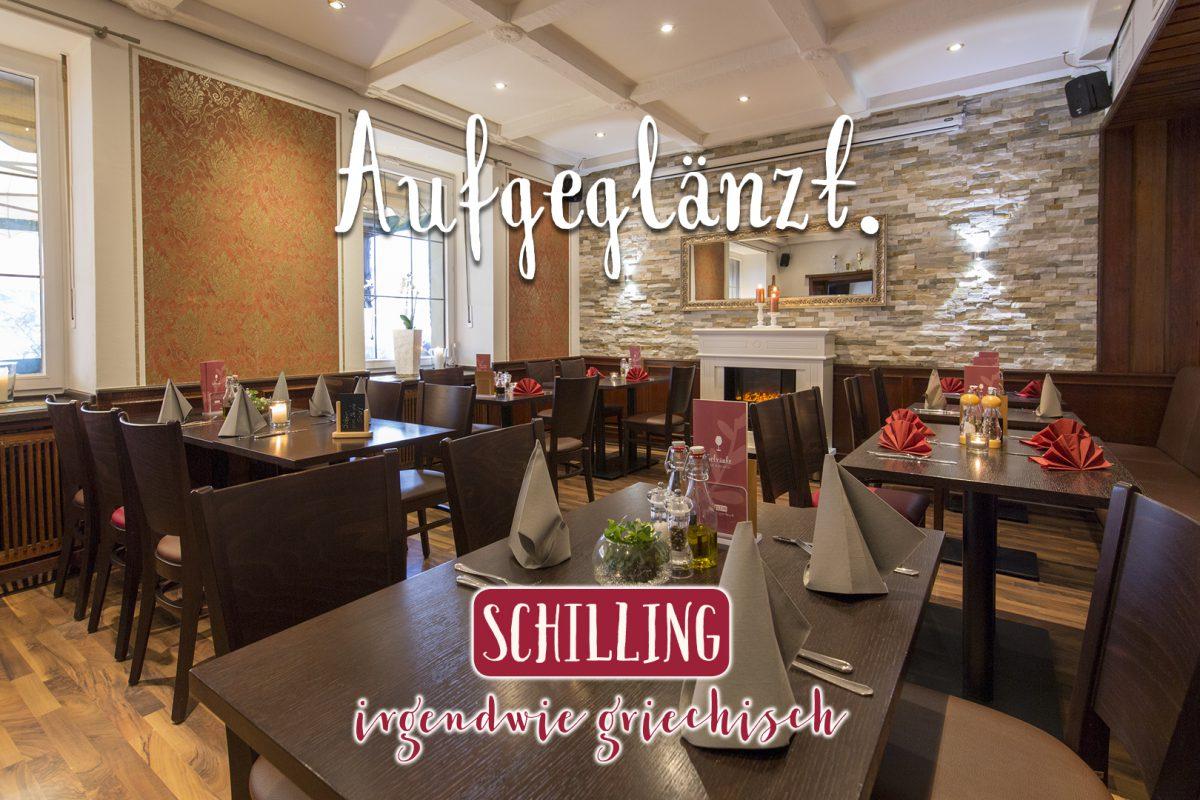 Schilling aufgeglänzt!