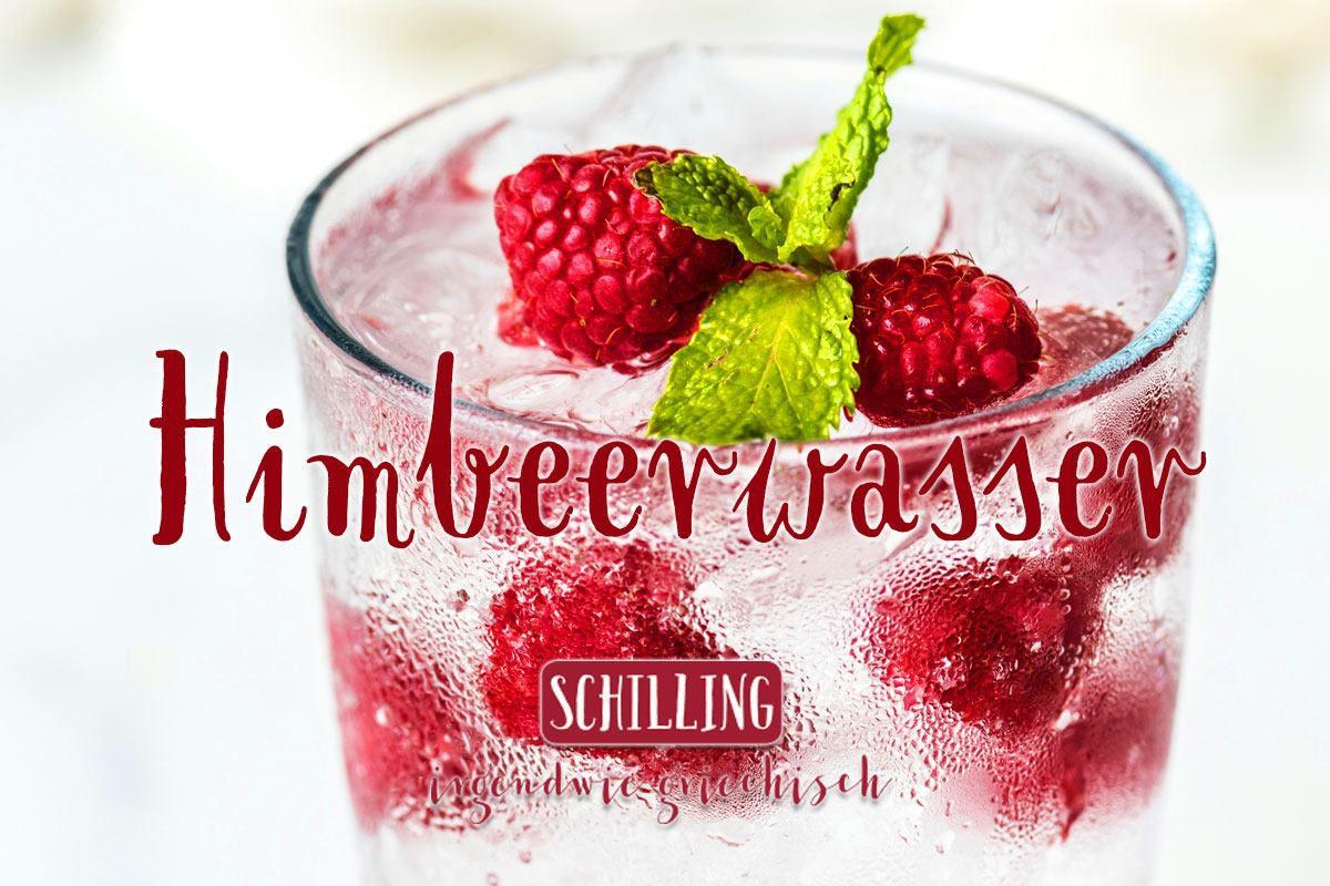 Schilling Himbeerwasser