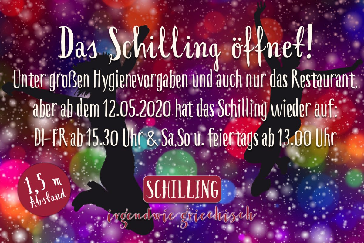 Schilling wieder offen